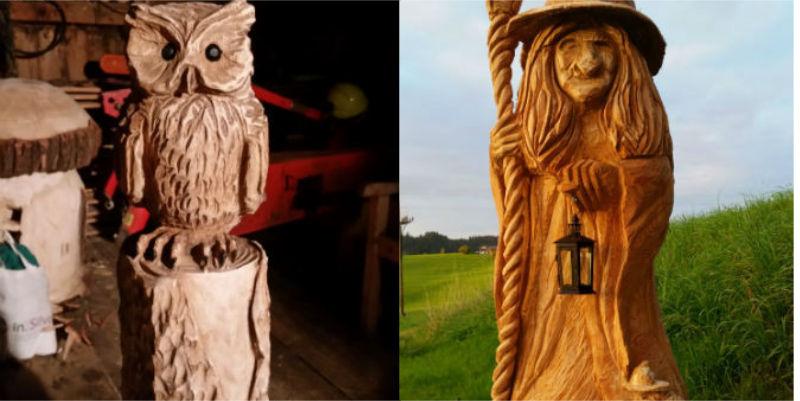 design#5001399: kettensaegenkunst holz carving motorsaege, Garten und erstellen