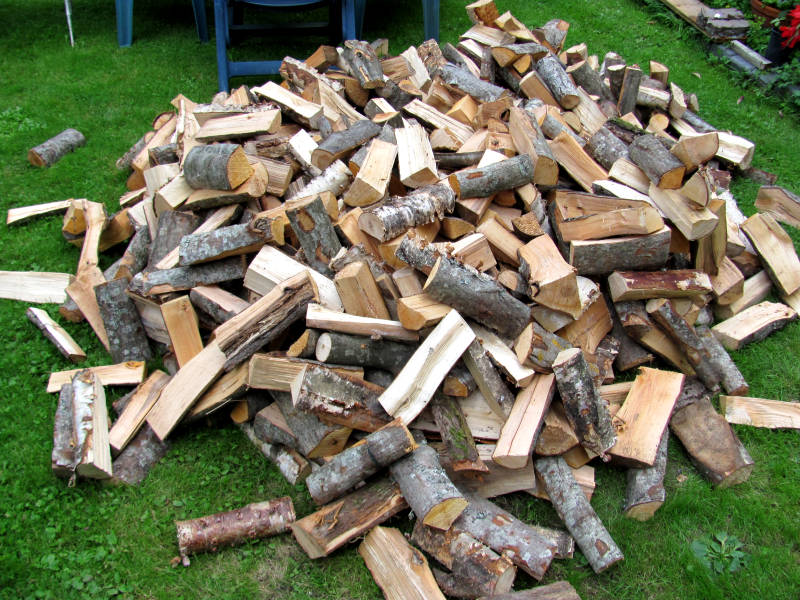 Brennholz wo lagern